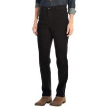 Whiskered Jeans - Slim Leg (For Women) in Black - 2nds