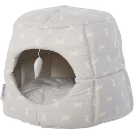 Whiskers u0026 Co. Polka Kitty Cat Hut - 18u201d Round in Grey - Closeouts  sc 1 st  Sierra Trading Post & Home u0026 Pet: Average savings of 38% at Sierra - pg 5