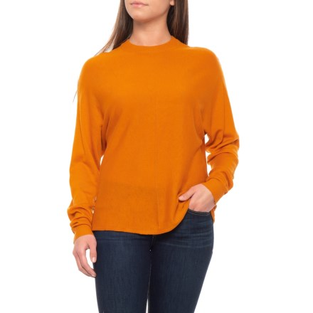 cdc92d4db2a690 White Closet Australian Designer Bat Wing Sweater (For Women) in Mustard -  Closeouts