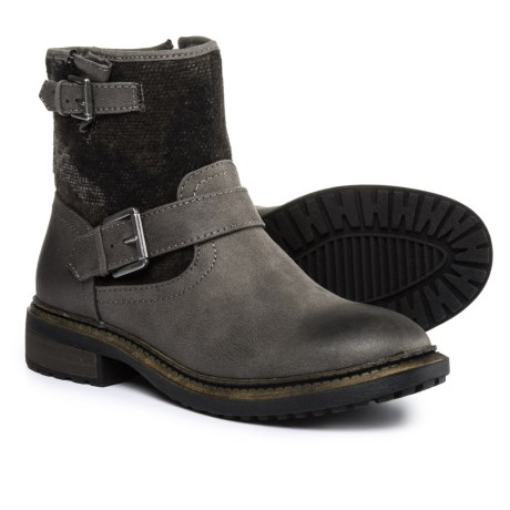 White Mountain Carlin Boots (For Women) in Grey