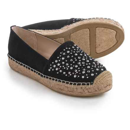 White Mountain Hydrangea Espadrilles (For Women) in Black - Closeouts