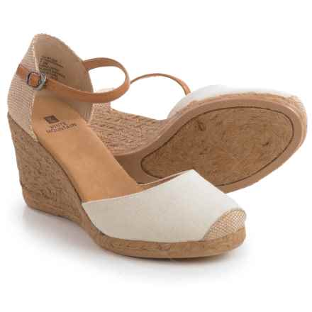 White Mountain Mamba Wedge Shoes (For Women) in Natural - Closeouts