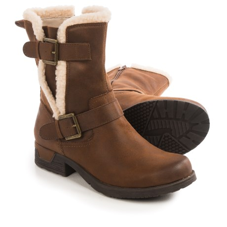 White Mountain Redondo Boots (For Women) in Cognac