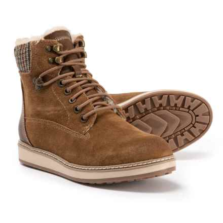 White Mountain Theo Boots - Suede (For Women) in New Chestnut Suede