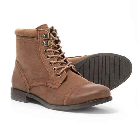 White Mountain Trenton Boots (For Women) in Tobacco/Suede - Closeouts