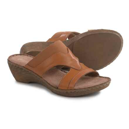 White Mountain Verna Sandals - Leather (For Women) in Tan - Closeouts
