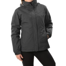 White Sierra 4-in-1 Jacket - Waterproof, Insulated (For Women) in Black - Closeouts