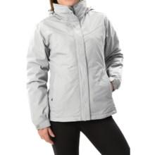 White Sierra 4-in-1 Jacket - Waterproof, Insulated (For Women) in Cloud - Closeouts