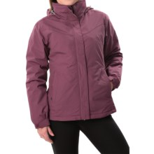 White Sierra 4-in-1 Jacket - Waterproof, Insulated (For Women) in Crushed Grape - Closeouts