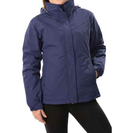 White Sierra 4-in-1 Jacket - Waterproof, Insulated (For Women) in Patriot Blue - Closeouts