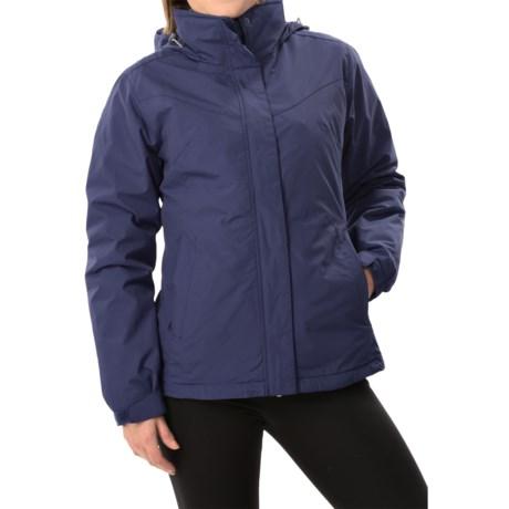 White Sierra 4-in-1 Jacket - Waterproof, Insulated (For Women)