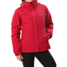 White Sierra 4-in-1 Jacket - Waterproof, Insulated (For Women) in Tango Red - Closeouts