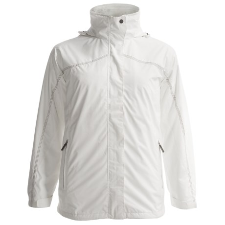 White Sierra All Seasons Jacket - Insulated, 3-in-1 (For Women) in Cloud