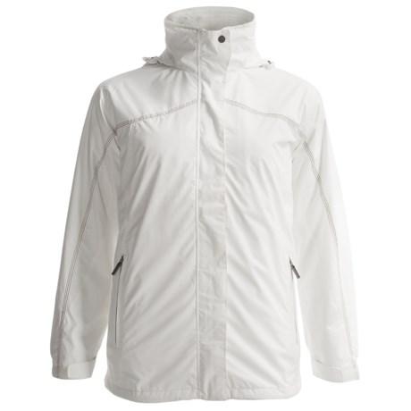 White Sierra All Seasons Jacket - Insulated, 3-in-1 (For Women) in Cloud
