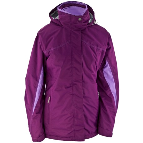 White Sierra All Seasons Jacket - Insulated, 3-in-1 (For Women) in Dep Deep Purple
