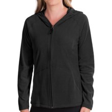 White Sierra Alpha Beta Hooded Jacket (For Women) in Black - Closeouts