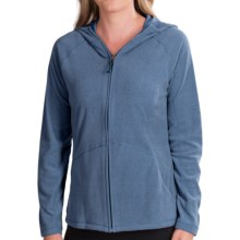 White Sierra Alpha Beta Hooded Jacket (For Women) in Classic Blue - Closeouts