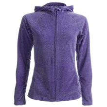 White Sierra Alpha Beta Jacket - Hooded (For Women) in Blueberry Heather - Closeouts