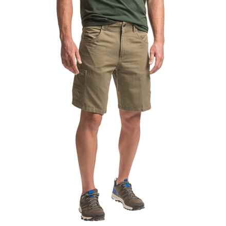 White Sierra Altos Shorts (For Men) in Bark - Closeouts