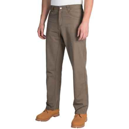 White Sierra Altos Work Pants (For Men) in Bark - Closeouts