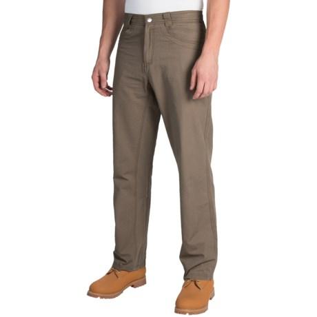 White Sierra Altos Work Pants (For Men) in Bark