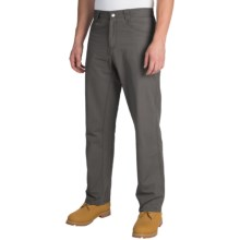 White Sierra Altos Work Pants (For Men) in Caviar - Closeouts