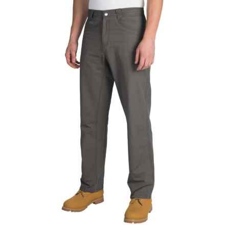 White Sierra Altos Work Pants (For Men) in Caviar - Closeouts