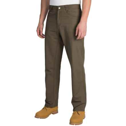 White Sierra Altos Work Pants (For Men) in Dark Sage - Closeouts