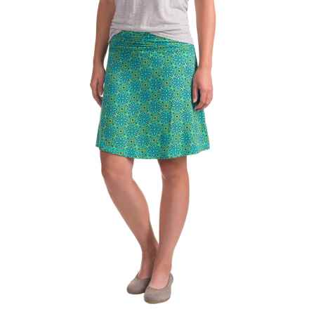 White Sierra Angier Mosaic Skirt (For Women) in Blue Radiance - Closeouts