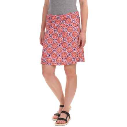 White Sierra Angier Mosaic Skirt (For Women) in Melon - Closeouts