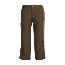 White Sierra Bent Creek Capris - UPF 30 (For Women) in Breen - Closeouts