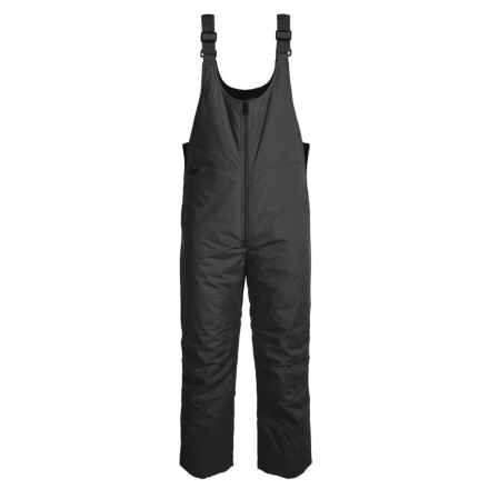 White Sierra Bib Snowsuit - Insulated (For Little and Big Kids) in Black - Closeouts