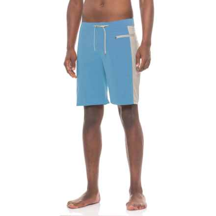 White Sierra Big Surf Boardshorts (For Men) in Imperial Blue - Closeouts
