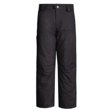 White Sierra Bilko Snow Pants - Insulated (For Boys) in Black - Closeouts