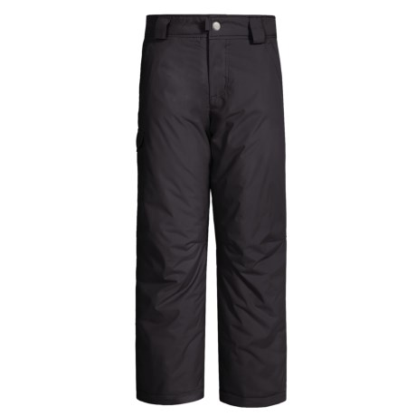White Sierra Bilko Snow Pants - Insulated (For Boys) in Black