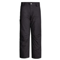 White Sierra Bilko Snow Pants - Insulated (For Little and Big Boys) in Black