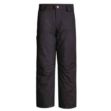 White Sierra Bilko Snow Pants - Insulated (For Little and Big Boys) in Black - Closeouts