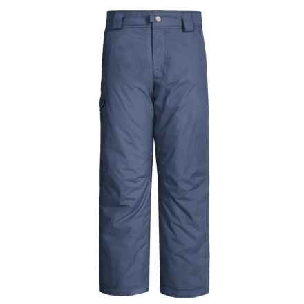White Sierra Bilko Snow Pants - Insulated (For Little and Big Boys) in Blue Indigo - Closeouts