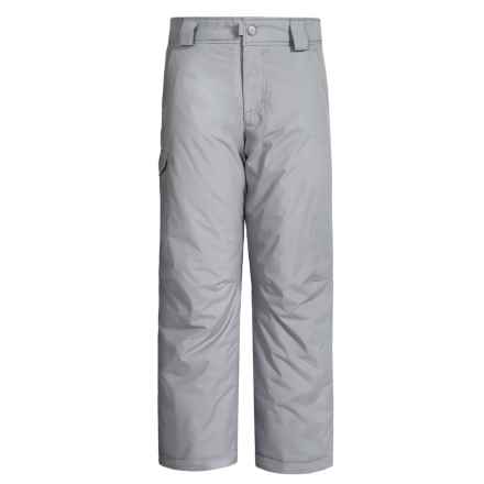 White Sierra Bilko Snow Pants - Insulated (For Little and Big Boys) in Sleet Grey - Closeouts