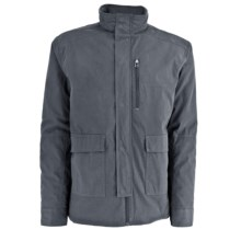 White Sierra Breton Cove Jacket (For Men) in Titanium - Closeouts
