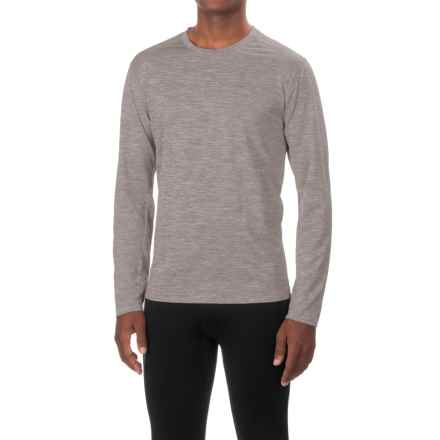 White Sierra Bug-Free Base Camp T-Shirt - Long Sleeve (For Men) in Heather Gray - Closeouts
