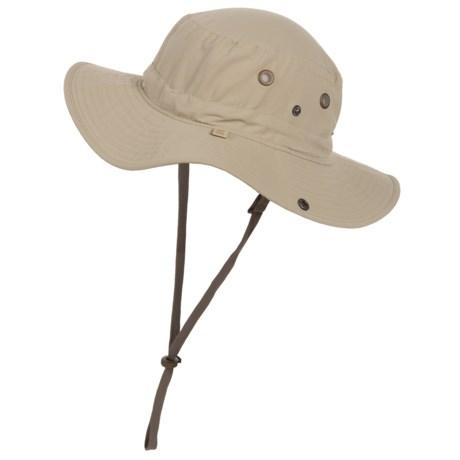 e8ff16b42b402 White Sierra Bug-Free Hat - UPF 30 (For Men) in Stone