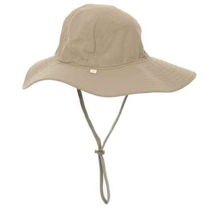 White Sierra Bug Free Insect Shield® Sun Hat - UPF 30 (For Women) in Stone - Closeouts