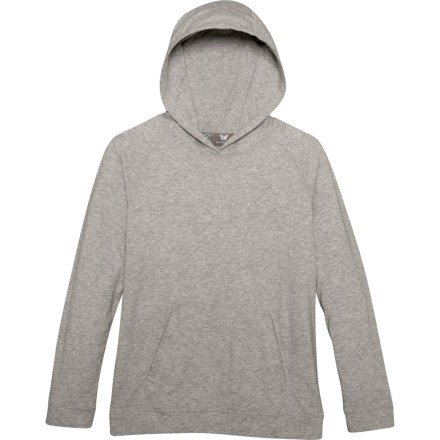 4a1fa79cfcf65 White Sierra Bug-Free Jersey Hoodie - UPF 30 (For Little and Big Boys