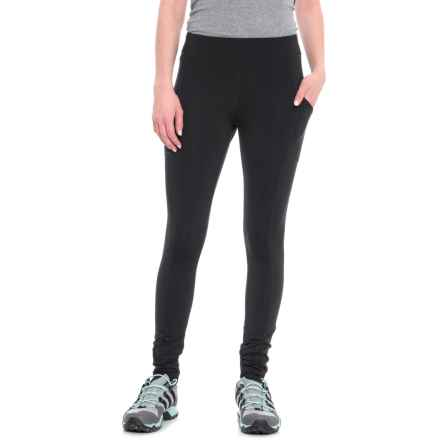 White Sierra Bug-Free Leggings - UPF 30 (For Women) in Black - Closeouts