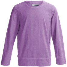 White Sierra Bug Free T-Shirt - Insect Shield®, Long Sleeve (For Youth) in Sheer Lilac - Closeouts