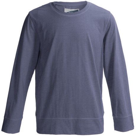 White Sierra Bug Free T-Shirt - Insect Shield®, Long Sleeve (For Youth) in Vintage Indigo