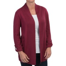White Sierra Cabot Landing Cardigan Sweater (For Women) in Beet Red - Closeouts