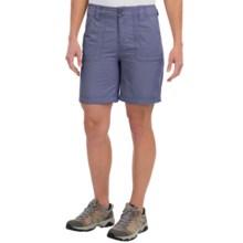 White Sierra Canyon Shorts (For Women) in Vintage Indigo - Closeouts