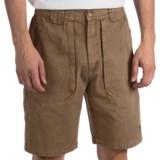 White Sierra Chugger Shorts (For Men)